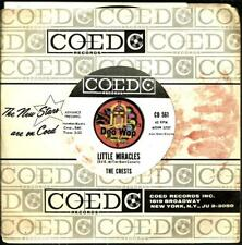 CRESTS LITTLE MIRACLES SOUL DOO WOP R&B PROMO 45 RPM RECORD