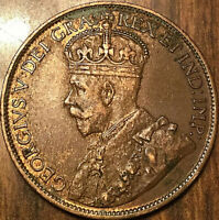 1913 CANADA LARGE CENT PENNY LARGE 1 CENT - Excellent example!