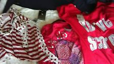 L@@K 5 PACK NWT SIZE 18 RED & WHITE MIX SUMMER HOLS BUNDLE 1 ITEM RRP £30!!!