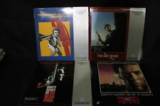 Lot of 50 Laserdisc Moves, Pink Panther, James Bond, Clint Eastwood, Twilight