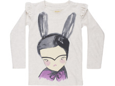 Soft Gallery Girls' Long-Sleeve Maddy the Bunny Girl Shirt Size 7