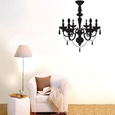 Chandelier Wall Decals Vinyl Art Home Stickers Room Decor Removable Mural DIY
