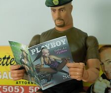 1/6 Scale Custom Playboy GI Joe Cobra Pythona - with interior pages