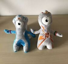 Small Wenlock and Mandeville Plush Soft Toys - London 2012 Olympics - 9 inch