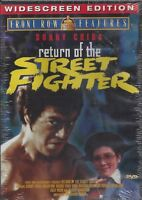 RETURN OF THE STREET FIGHTER DVD Movie- Brand New- Fast Ship! (OD-3657/OD-414)