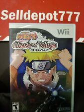 Naruto: Clash of Ninja Revolution (Nintendo Wii, 2007) Brand New