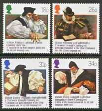 Gb Mnh Scott 1205-1208, 1988 Welsh Bible 400th Anniv. complete set of 4