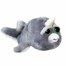 Feisty Pets Billy Blubber Narwhal Growling Plush Figure NEW