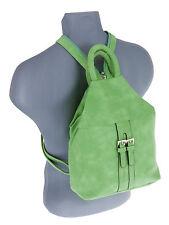 Rucksack Alessandro Femme Handtasche Damen Tasche 5437 Bag Lugano Grün +Etui
