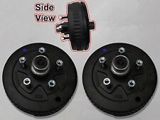 5 x 4.5 Pair of Brake Assembly Spindle Kit Stub End Unit Trailer Axle 3500 84