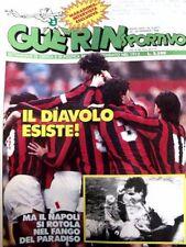 GUERIN SPORTIVO=N°3 1988=POSTER FIORENTINA 87/88=MARADONA=