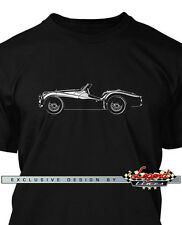 Triumph TR2 TR3 Convertible Roadster T-Shirt for Men - Multiple Colors and Sizes