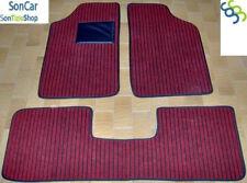 PEUGEOT 205 TAPPETI tappetini AUTO Spessi 1cm + 4 block