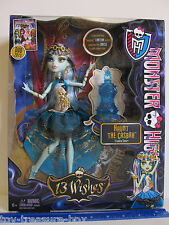 "Monster High - 13 Wishes Haunt the Casbah  ""FRANKIE STEIN"" Doll & Her Lantern"