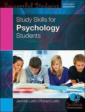 Study Skills for Psychology Students by Richard Latto, Jennifer Latto...