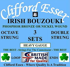 More details for irish bouzouki strings -  heavy gauge - 3 x sets - 10% discount. made in the uk.