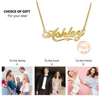 Personalized Artistic Style Name Necklace Pendant Cooper Jewelry Choose Any Name