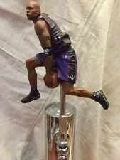 Toronto Raptors Tap Handle Beer Keg NBA Vince Carter Black Purple Jersey Nike