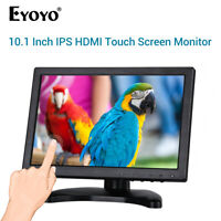 "EYOYO 10.1"" Touch Screen IPS Monitor 1280x800 Support VGA USB HDMI for CCTV"