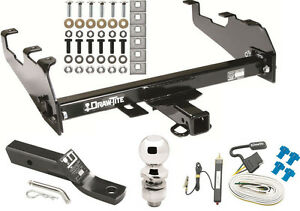 1974-1981 PLYMOUTH TRAILDUSTER COMPLETE TRAILER HITCH PACKAGE W/ WIRING KIT NEW