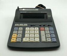 Sharp, El-1192BL,2 Color Print,12 Digit, Electronic Calculator,Vintage