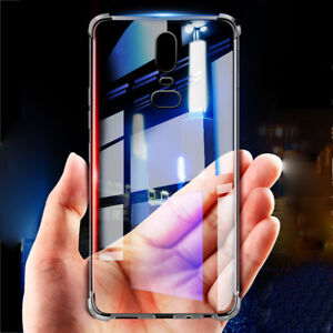 Glossy Crystal Silicone Slim Shockproof Rubber Case Cover for OnePlus 6 6T 5T 3T