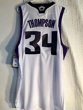 Adidas Swingman NBA Jersey Kings Jason Thompson White sz XL