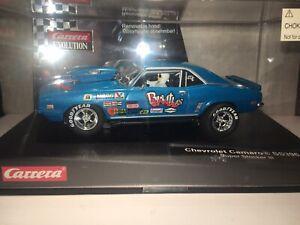 """Carrera Evolution 1/32  Chevrolet Camaro SS396 """"Super Stocker lll"""", Slot Car."""