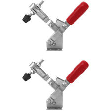2 Pack 101D Vertical Toggle Clamps 400LB Steel Quick Release Hand Tool