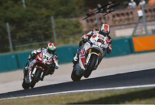 Jonathan Rea Hand Signed Pata Honda 12x8 Photo.