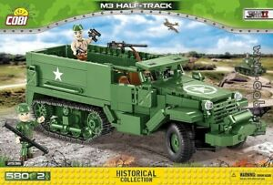 COBI M3 Half - Track  ( 2536 ) 580 blocks WWII US Army  Armored Personal Carrier