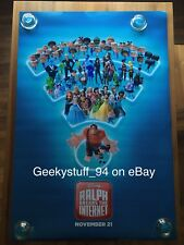 Ralph Breaks The Internet DS Theatrical Movie Poster 27x40