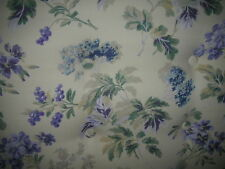 "Curtains in Laura Ashley Vintage Abbotswood Indigo 200cm Wide  NEW 90"" drop"