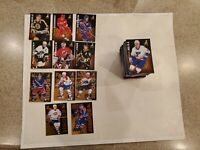 1995-96 Zenith Hockey Complete Set 1-150 Loaded with Stars and Rookies Mint