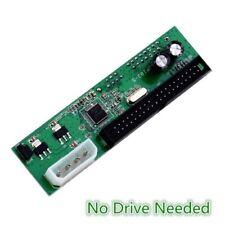 PATA IDE TO SATA Converter Adapter Plug&Play 7+15 Pin 3.5 2.5 SATA HDD DVD DM