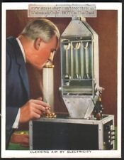 Early Electric Ionizer Air Cleaner Purifier c80 Y/O Trade Ad Card