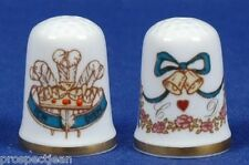 China/Porcelain Caverswall Collectable Sewing Thimbles