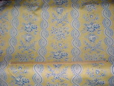 Stroheim and Romann Marguerite Buttercup Bluebell Outdoor Upholstery Fabric