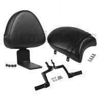 Rear Backrest Sissy Bar w/ Passenger Seat Foot Pegs for Victory Vegas Kingpin