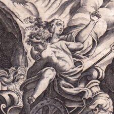 Gravure XVIIIe Rapt De Perséphone Proserpine Hadès Coré Rape of Persephone