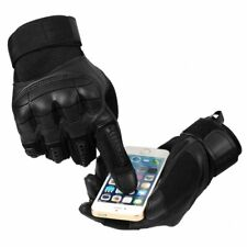 ✅USA-Stock Touch Screen Tactical Rubber Hard Knuckle Full Finger Gloves Military