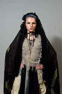 Urban Couture Handmade Saree Costume Artisanal Dress Runway Atelier Designer