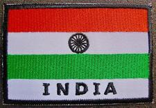 INDIA Indian Flag Sew on Glue on BADGE National Flag Embroidered Cloth Patch