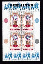 Gibraltar Gestempelt 4x Minr Briefmarken 951-954