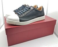 Salvatore Ferragamo Nero 6 Fabric Black Sneaker 18541 Mens Size 6 EEE