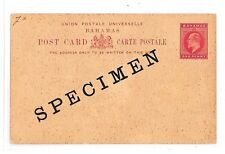 GG244 Bahamas Specimen Postcard Unused Blank CoverPostal Stationery PTS