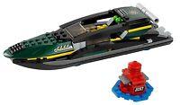 LEGO IRON MAN 76006 SPEEDBOAT & SEA BOI SUPERHEROES BUILD ONLY - NO MINIFIGURES