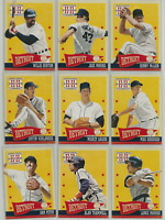 2013 Hometown Heroes Detroit Tigers Team Set 10 Cards Lolich Parrish McLain ++