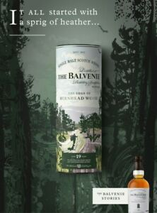 The Balvenie Stories Series Single Malt Aged 19 Years Whisky Boxed (Whiskey) BIS
