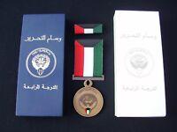 KUWAIT '91 Gulf War Military Medal & Ribbon In Box - Army,Guards,PARA,RAF,RM,SBS